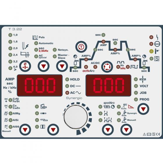 Сварочный инвертор EWM Tetrix 351 AC/DC AW FW