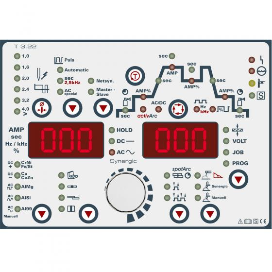 Сварочный инвертор EWM Tetrix 551 AC/DC AW FW