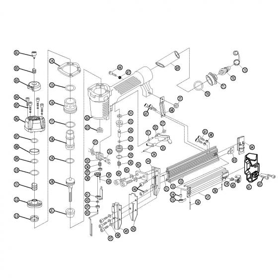 Main piston (№20) для FROSP F3232