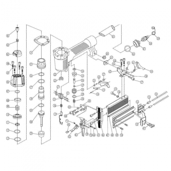 Main piston (№20) для FROSP F50