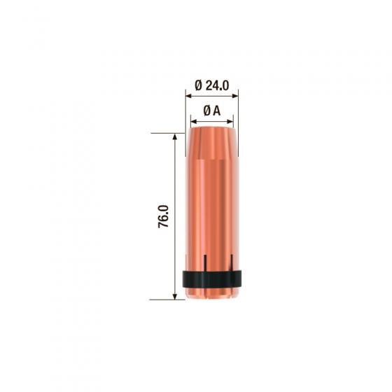 Газовое сопло Fubag HDD=16.0 мм FB 500(5 шт.) [FB500.N.16.0_HD]