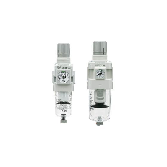Фильтр-регулятор SMC AW G1/4 с ручным сливом [AW20-F02-B]