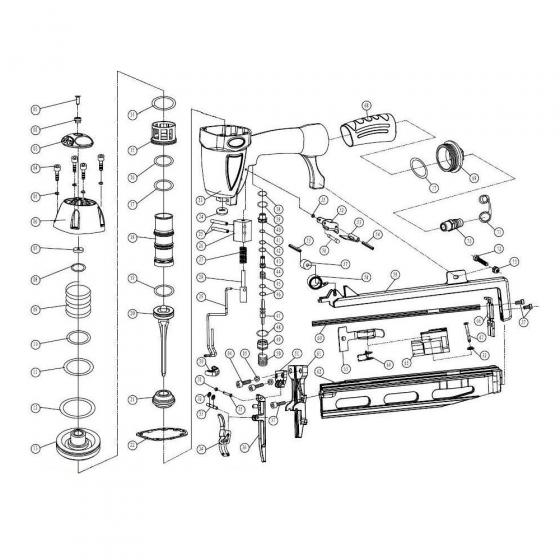 Bumper (№21) для FROSP FN64