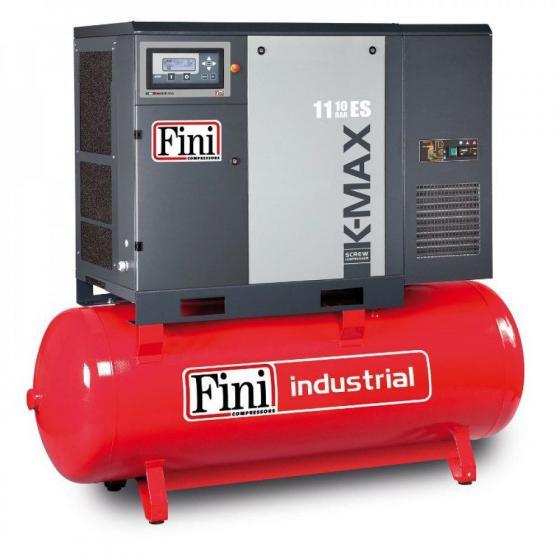 Винтовой компрессор на ресивере с осушителем FINI K-MAX 1108-500F ES