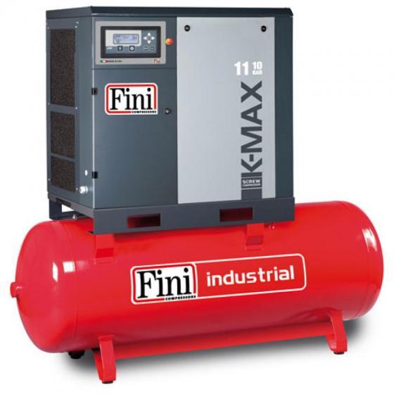 Винтовой компрессор на ресивере с частотником FINI K-MAX 1110-500F VS
