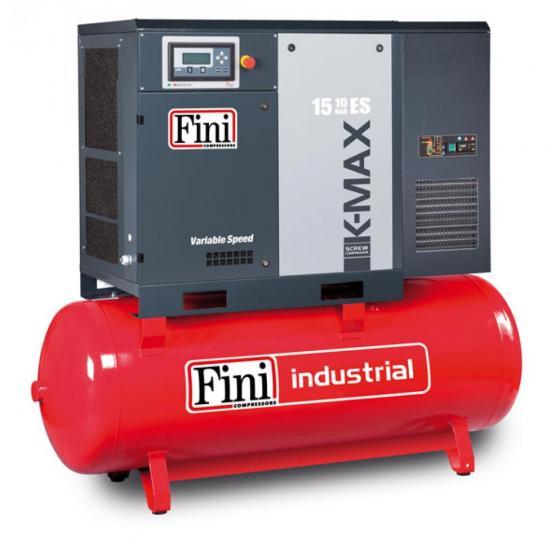 Винтовой компрессор на ресивере с осушителем, с частотником FINI K-MAX 1510-500F-ES VS