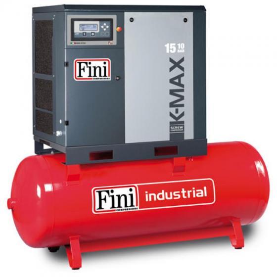 Винтовой компрессор на ресивере с частотником FINI K-MAX 1508-500F VS