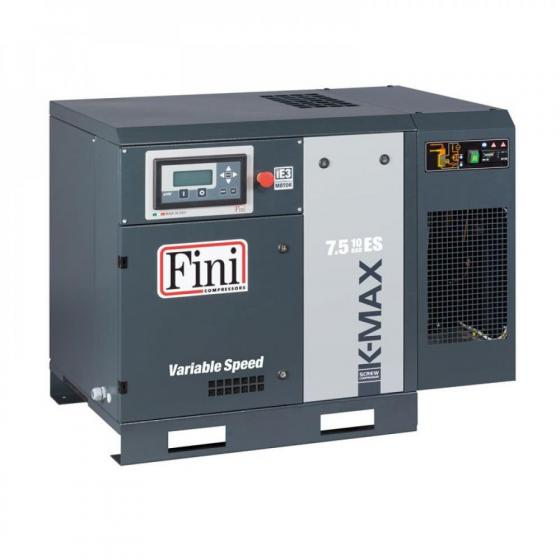 Винтовой компрессор без ресивера с осушителем, с частотником FINI K-MAX 7.5-08 ES VS