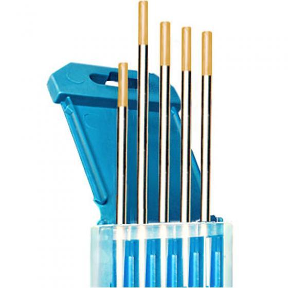 Электроды вольфрамовые КЕДР ВЛ-15-175 Ø 4,0 мм (золотистый) AC/DC [8013845]