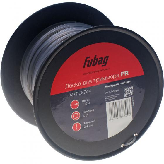 Триммерная леска Fubag FR сечение круглое (130 м x 2,4 мм)