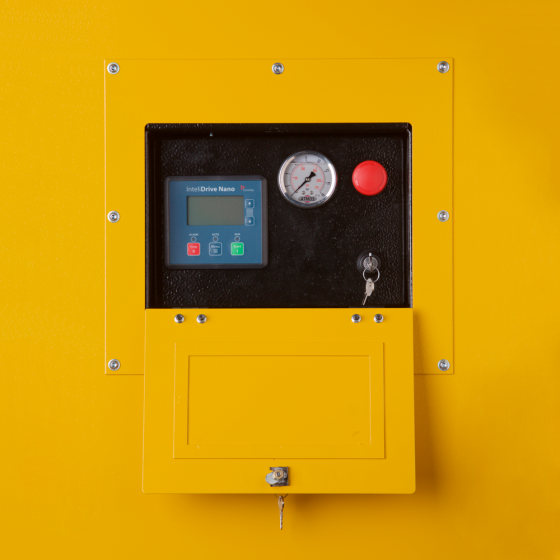 Компрессор передвижной ATMOS PDP 190 - 10 бар (фиксированная с тормозом ходовая часть)