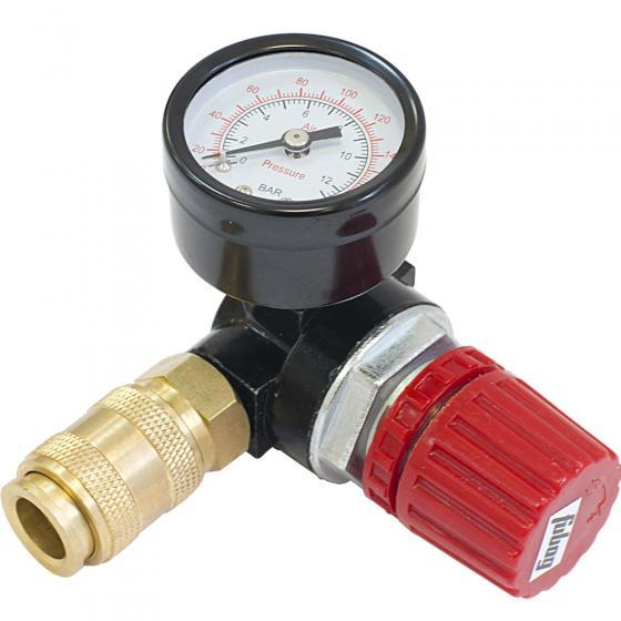 Регулятор давления RD-001 с манометром 0-12 бар (внутренняя резьба 1/4