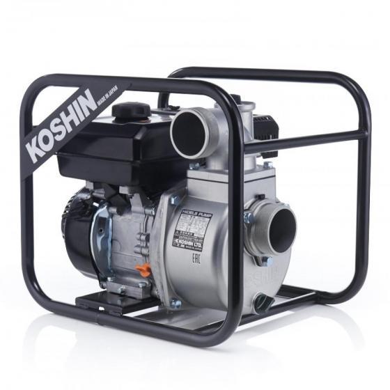 Бензиновая мотопомпа для загрязненных вод Koshin SEV-80X