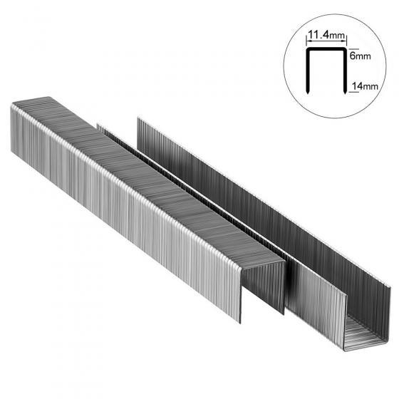 Скоба тип 53-8 мм Matrix для мебельного степлера, 1000 шт