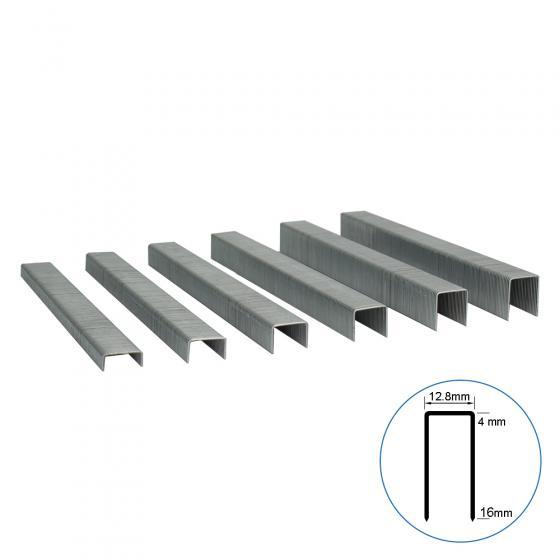 Мебельная скоба 80A/08 усиленная, 12.8х8 мм, 18200шт / Техмаш