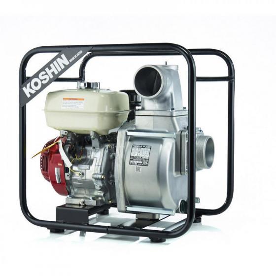 Бензиновая мотопомпа для средне-загрязненных вод Koshin STH-100X o/s