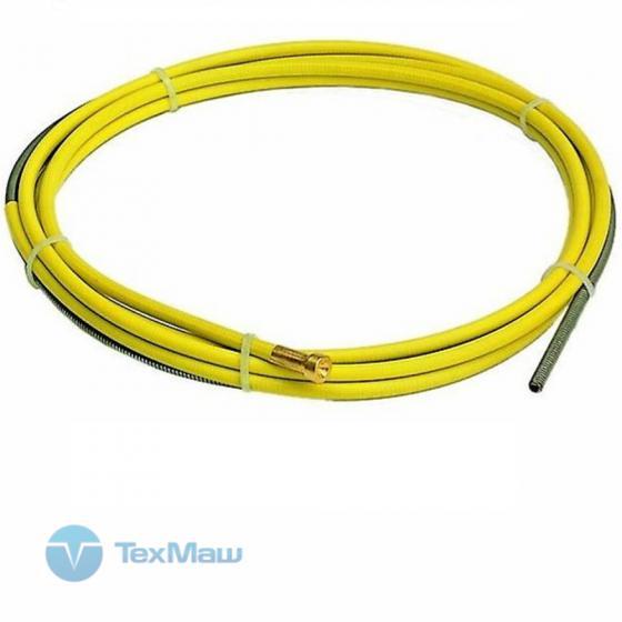 Канал направляющий 3.50м диам. 1.2-1.6, сталь, желтый