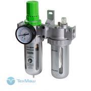 Отзыв на товар Фильтр воздушный ECO AU-02-12 с регулятором давления и маслораспылителем, G1/2